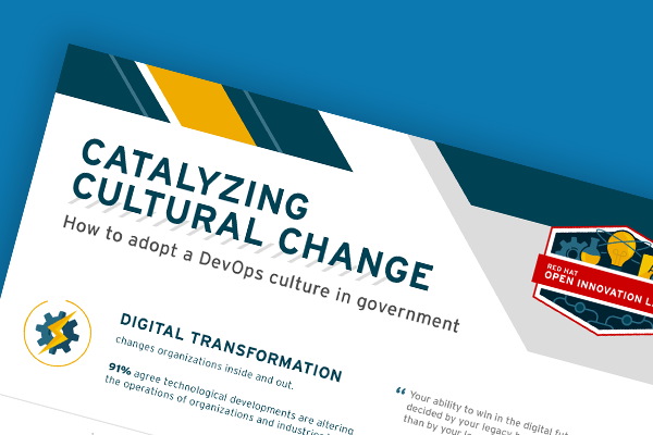 How to Adopt a DevOps Culture in Government - Infographic